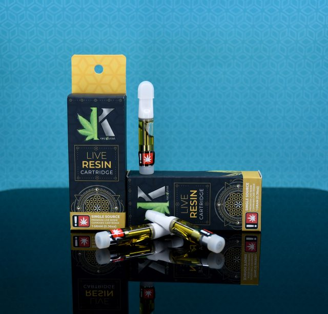 Live Resin Cartridges and Boxes